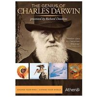 THE GENIUS OF CHARLES DARWIN (DVD, 2009, 2-DISC SET) NEW/FAST FREE SHIPPING