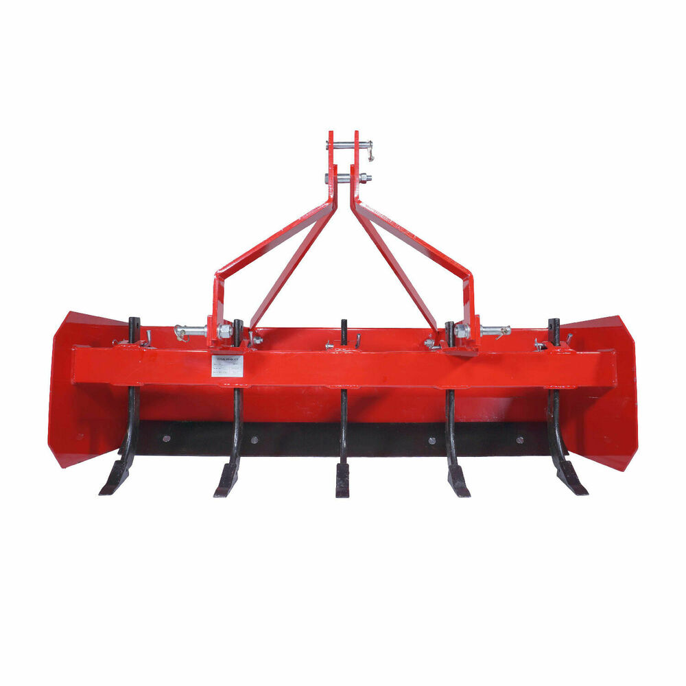 Category 0 Tractor Plow : Titan box blade tractor attachment category cat