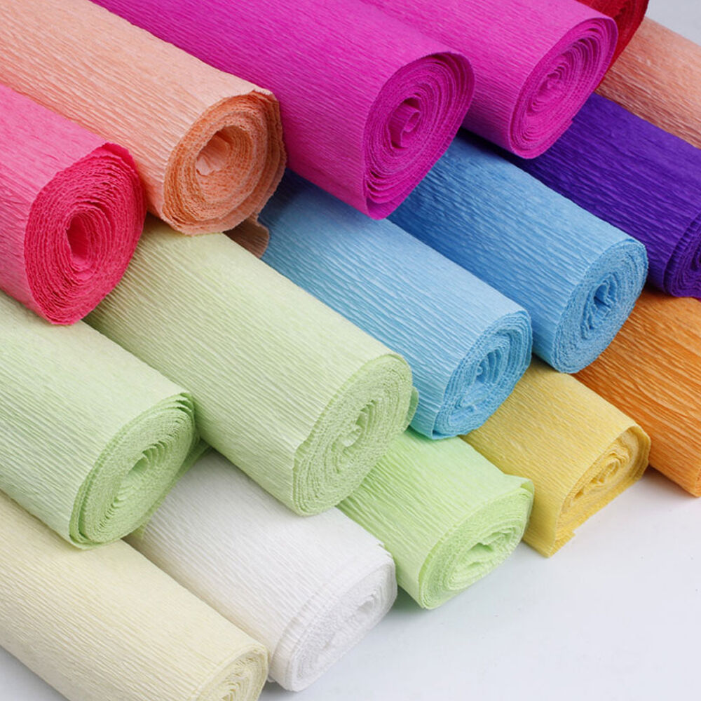 Crepe Paper Streamer Roll Wedding Birthday Party