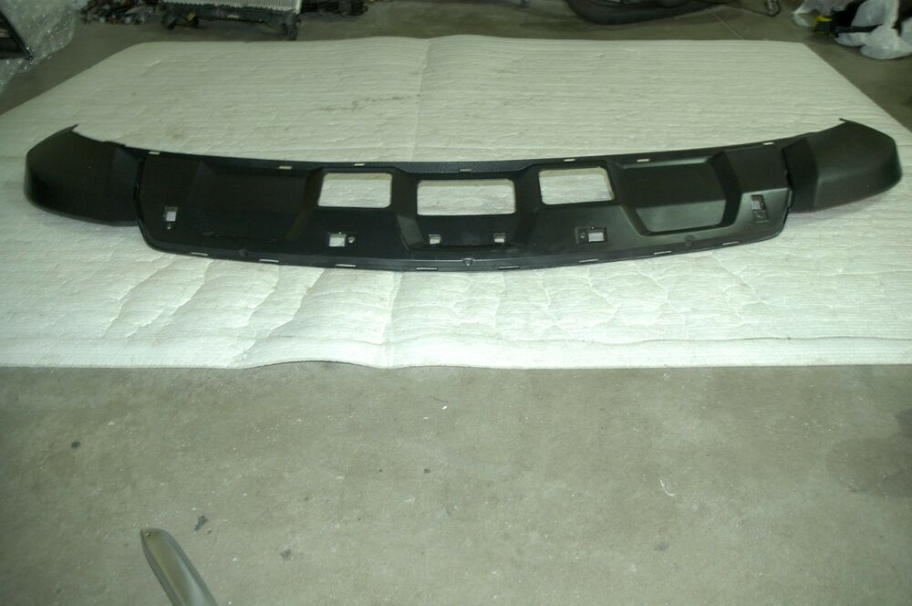 09 11 mercedes benz oem ml350 ml450 ml550 ml63 front lower for Mercedes benz car cover oem