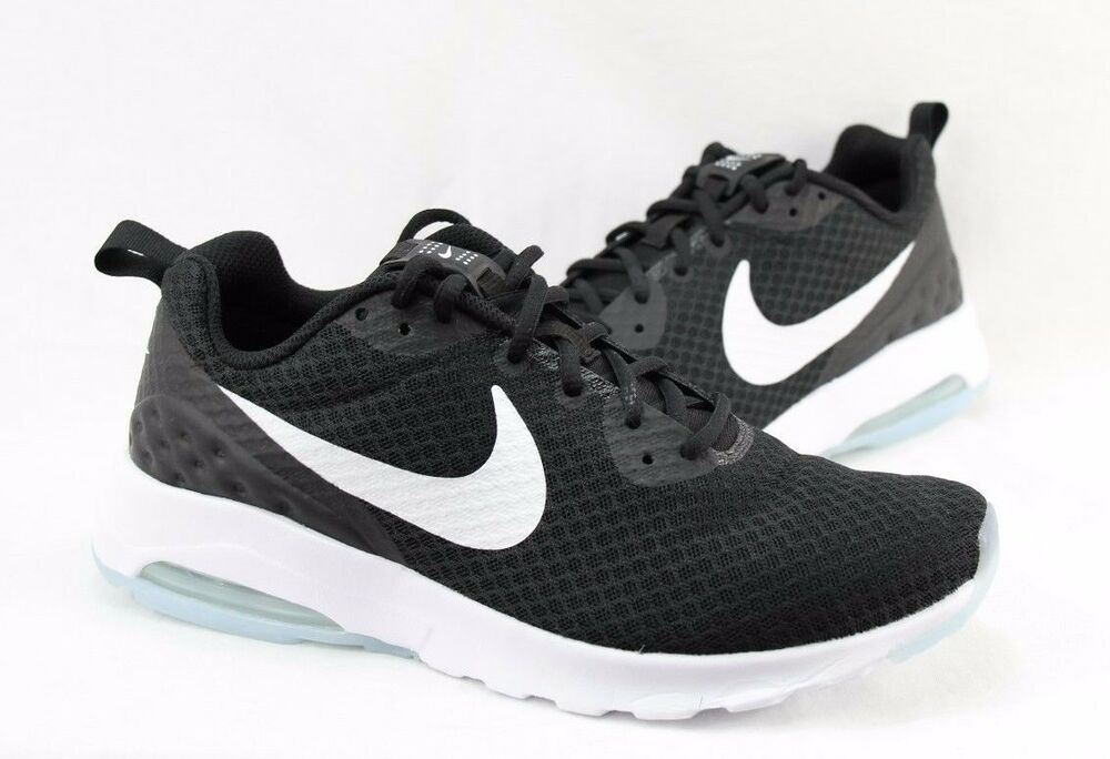 Details about NIKE AIR MAX MOTION LW 833260-010 BLACK WHITE MEN SIZE  8.5~10  AVAILABLE 2a6efc620