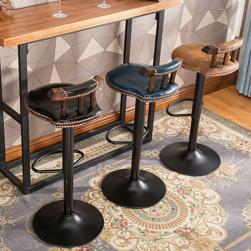 Vintage Wall Mount Bar Stools