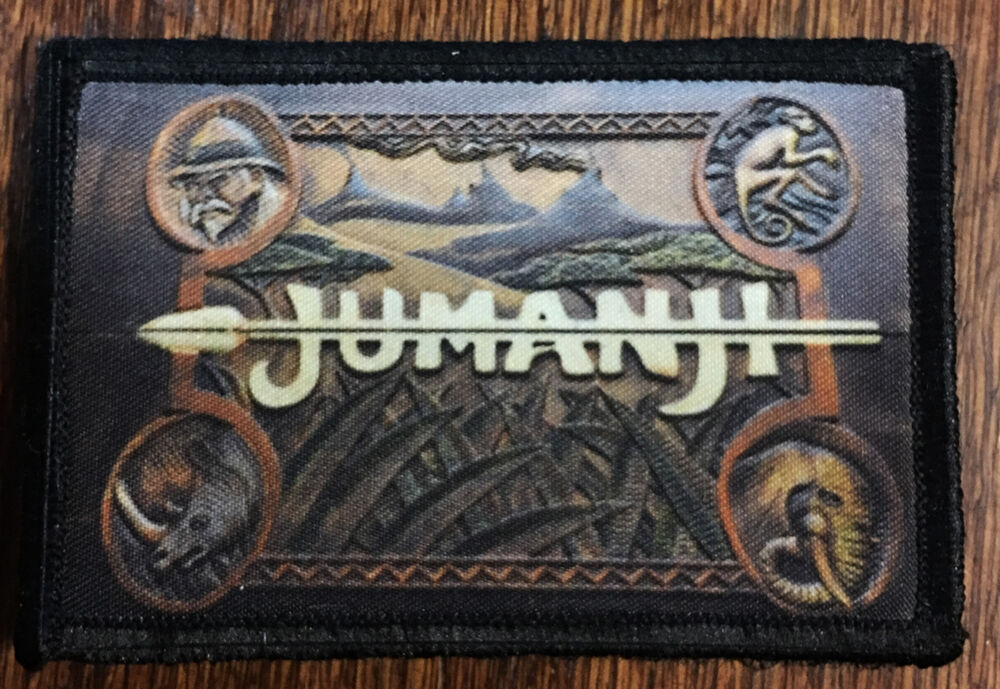Jumanji Movie Game Box Morale Patch Tactical Military Army