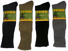 3 PAIRS AUST MADE SZ 11-14 MIXED HEAVY DUTY ARMY WOOL CUSHION FOOT WORK SOCKS