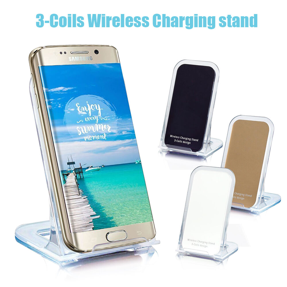 qi wireless charging charger plate adapter pad receiver. Black Bedroom Furniture Sets. Home Design Ideas