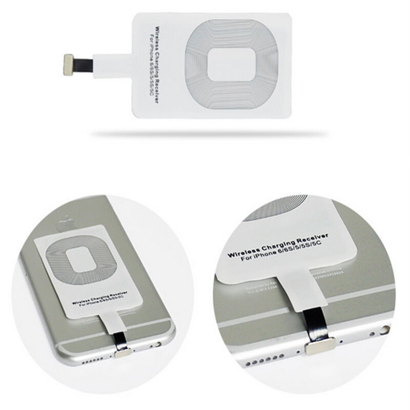 iphone 5 wireless charging qi wireless charging receiver card charger module mat for 7487