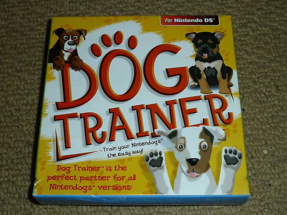 dog trainer nintendogs