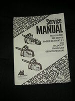 McCulloch 300 Series ,Eager Beaver 2.1, Wildcat OEM Service Manual *New*#3