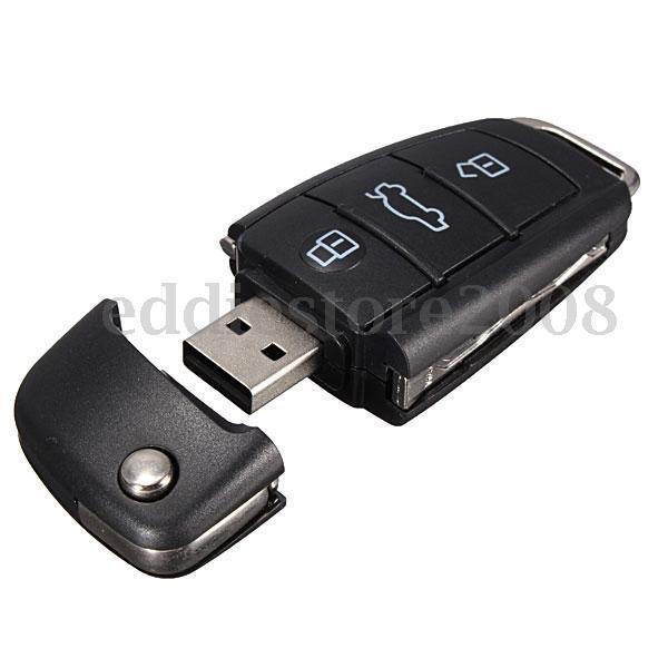 64gb usb 2 0 car key style flash memory drive stick. Black Bedroom Furniture Sets. Home Design Ideas