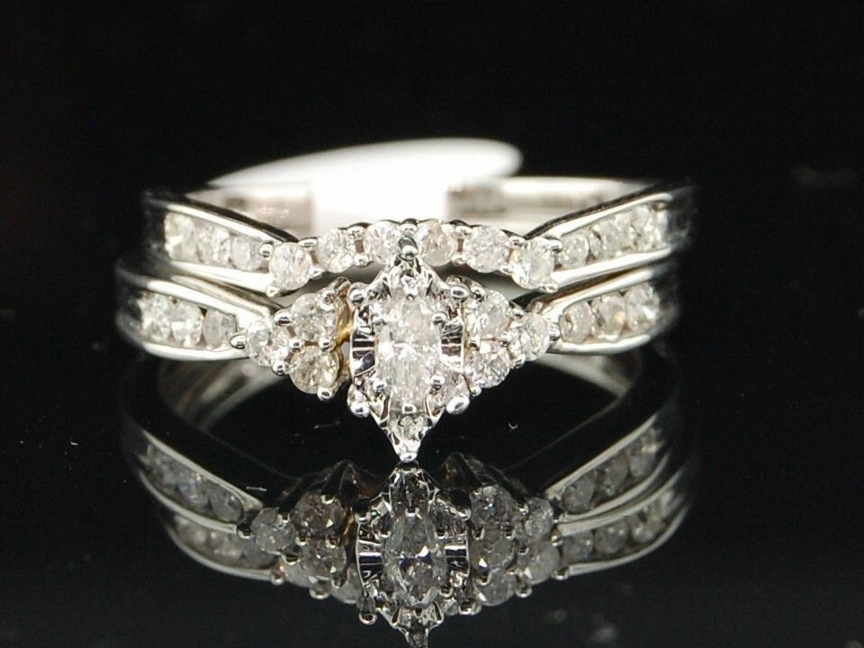 Ct White Gold Diamond Wedding Ring