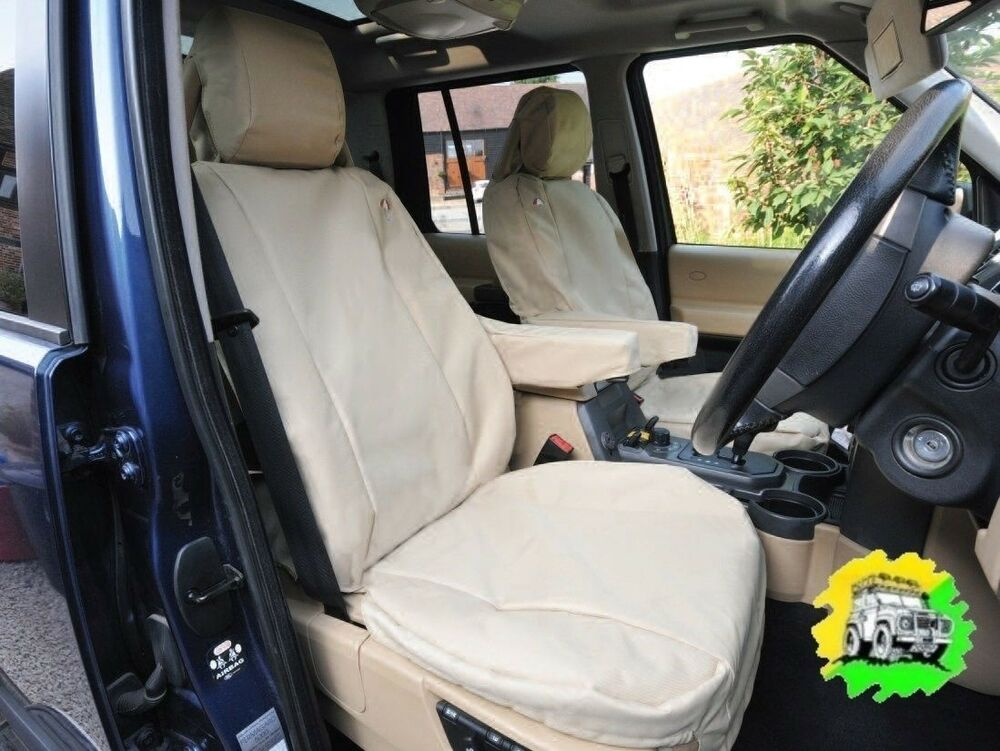 Range Rover Sport From 2010 Waterproof Front Seat Covers Sand Da2839sand Ebay