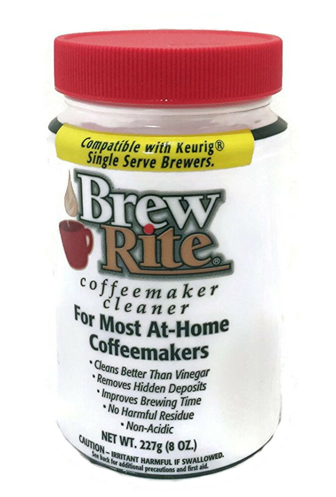 Brew Rite Coffee Maker Cleaner For Keurig Brewers Ebay