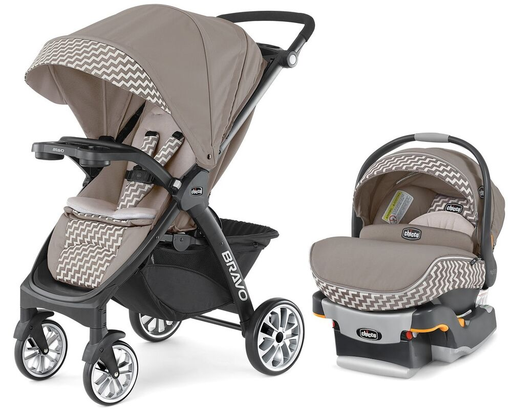 Chicco Bravo Le Trio 3 In 1 Baby Travel System Stroller W