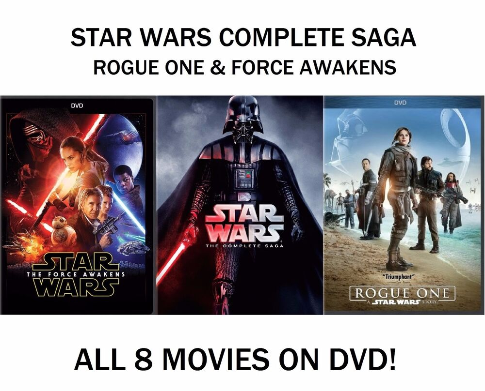 new star wars the complete saga episodes 16 amp force