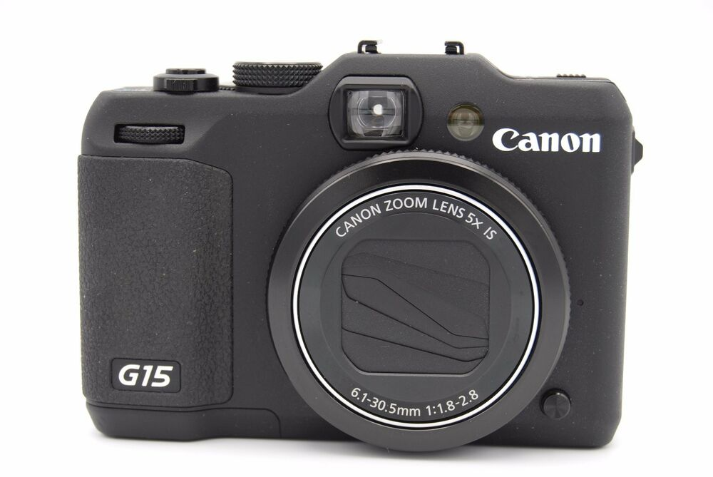 canon powershot g15 12 1mp 3 39 39 screen 5x zoom digital camera with battery 13803156805 ebay. Black Bedroom Furniture Sets. Home Design Ideas