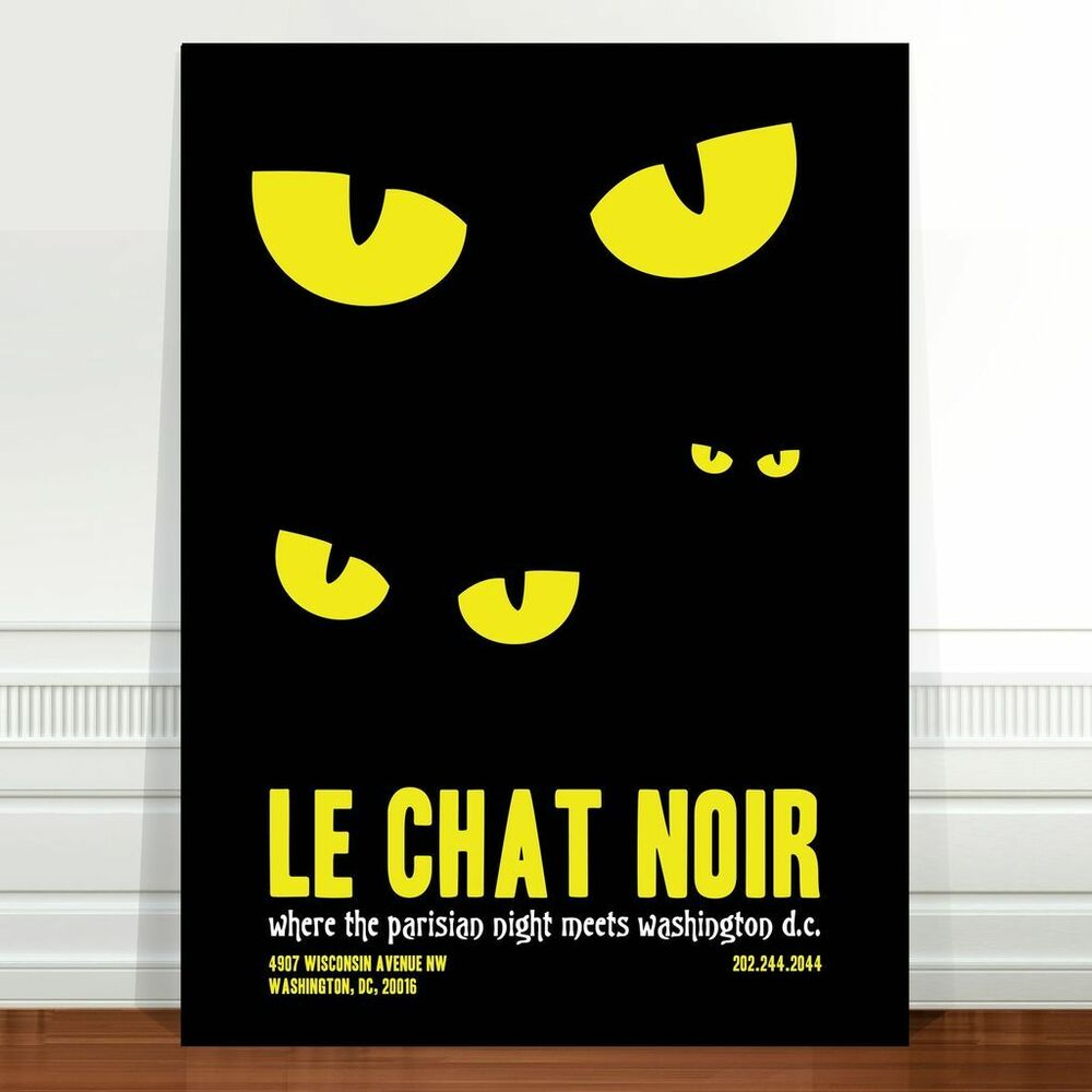 Vintage French Poster Art ~ CANVAS PRINT 16x12\