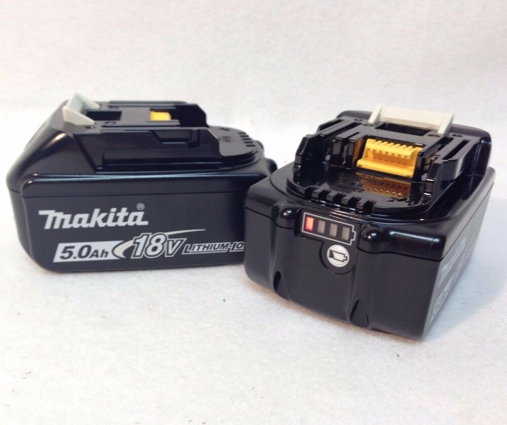 2 genuine makita bl1850b new 18v 18 volt lxt lithium ion 5 - Batterie makita 18v ...