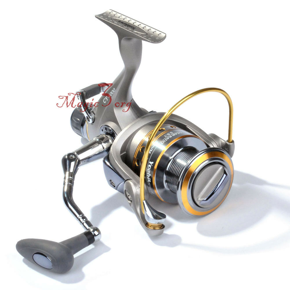 Yoshikawa baitfeeder fishing spinning reel 11bb 4000 bass for Ebay fishing reels
