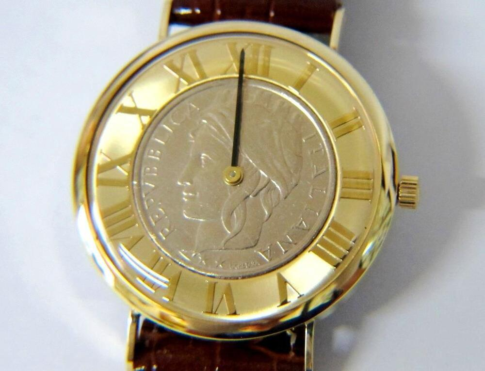 new gents vicence italy 14k solid gold coin ebay