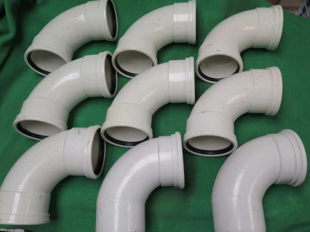 Sdr 35 Pipe : Pc sdr quot ° degree elbow gasketed fitting pvc sewer