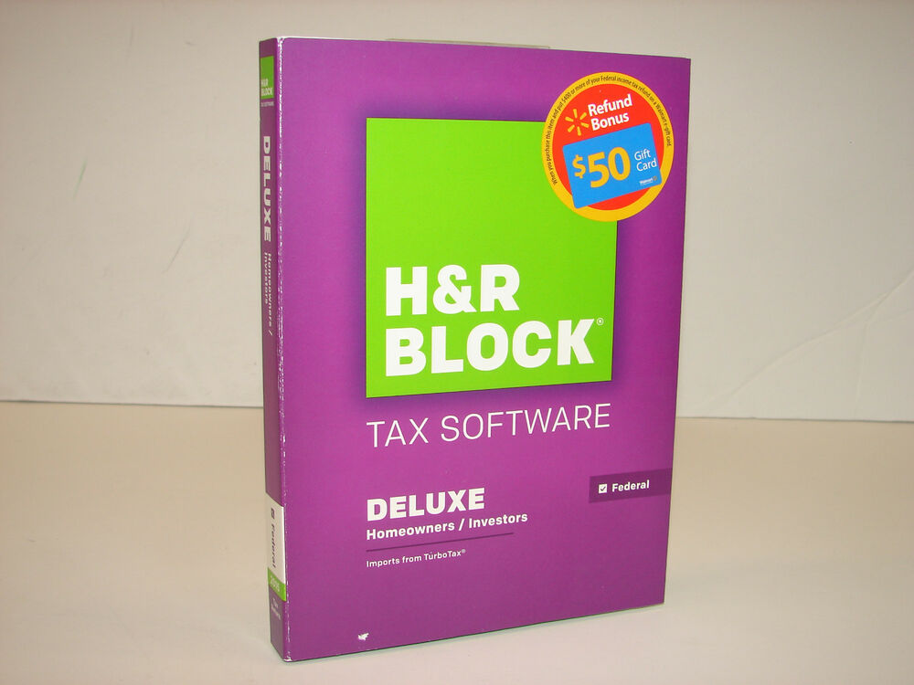 H&R Block Tax Software Review H&R Block's Tax Software offers a simple but thorough interface that is set up like an interview. The program asks you a series of .