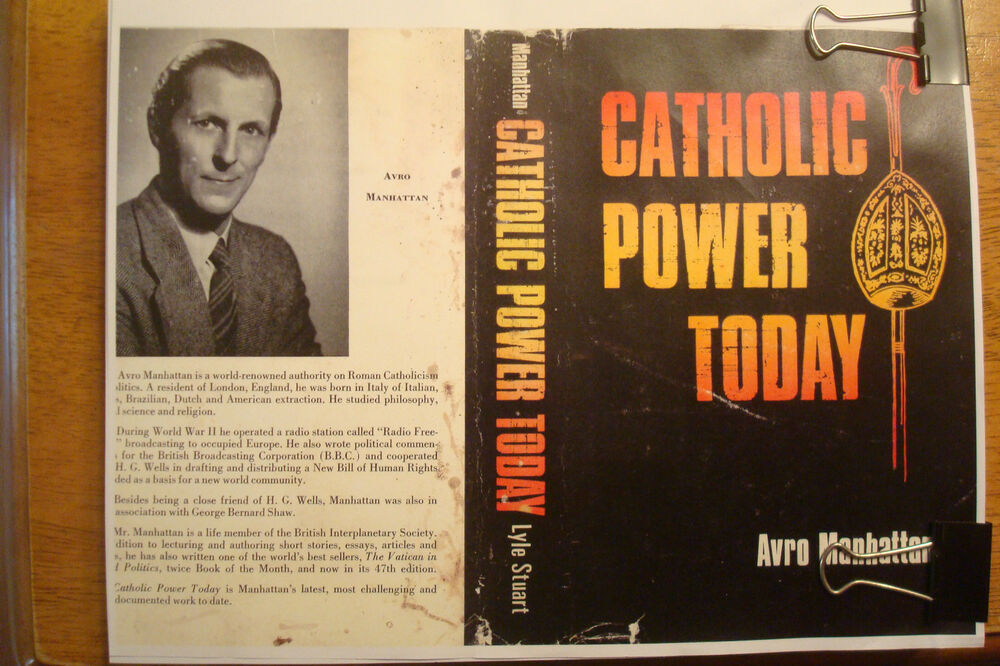 catholic power today avro manhattan pdf