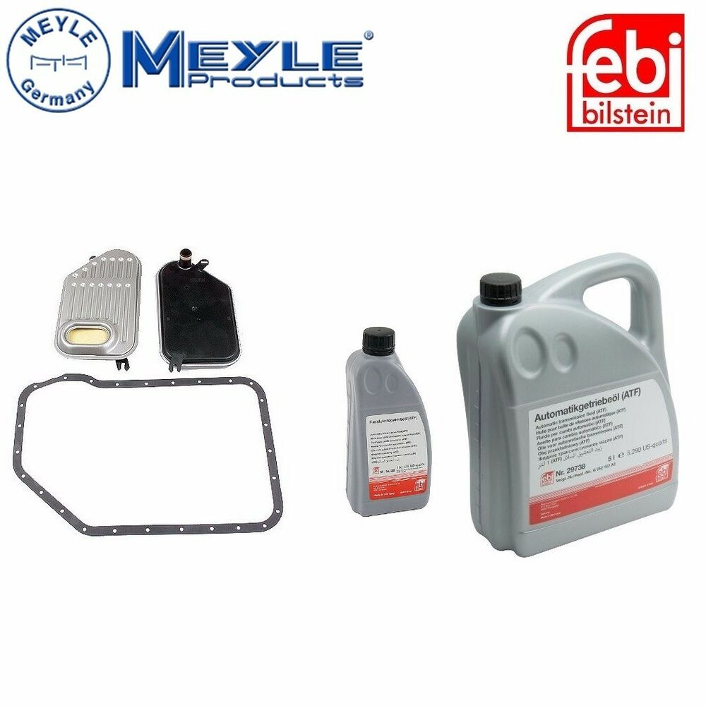 For 6 Liters Auto Transmission Fluid W/ Filter For Audi A4