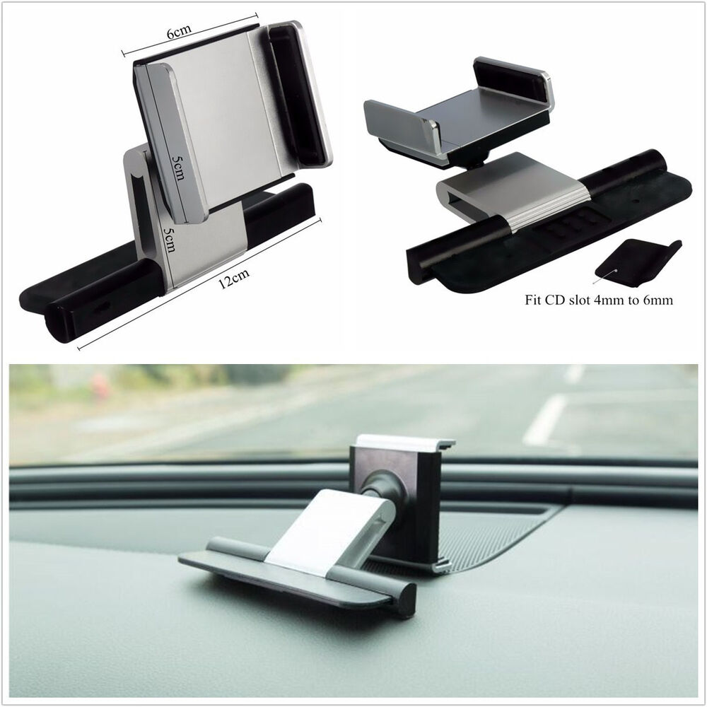 Portable car vehicle cd slot mount holder bracket for 3 5 - Porta cd auto simpatici ...