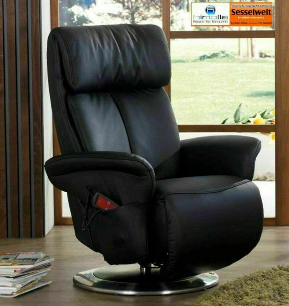 himolla sessel fernsehsessel 7627 easyswing leder schwarz buche aufstehhilfe neu ebay. Black Bedroom Furniture Sets. Home Design Ideas