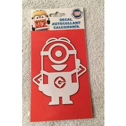 New Despicable Me 2 MINION Window Decal Sticker Cling Dave Stuart Made In USA