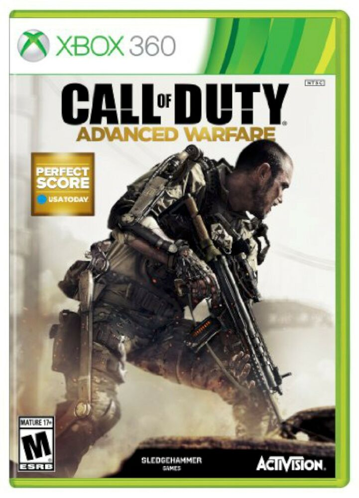 Shooting Games For Xbox 360 : Xbox call of duty advanced warfare video game