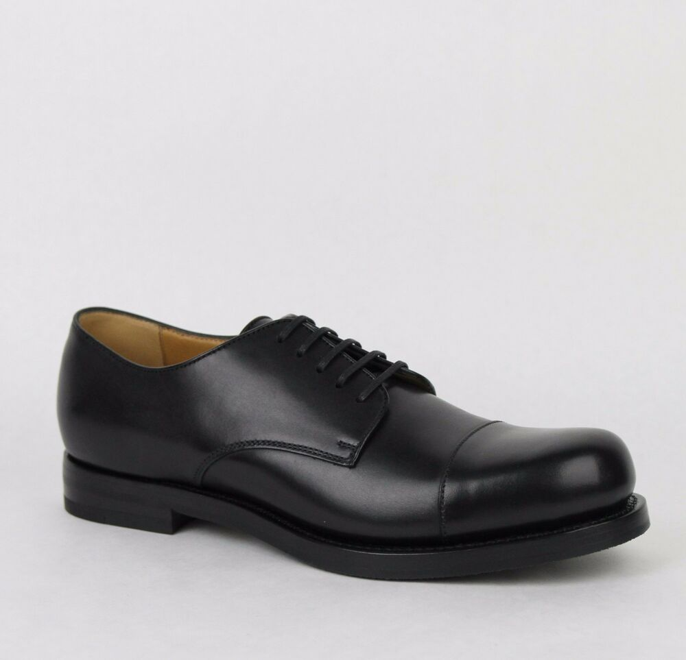 new gucci s black leather oxford dress shoes 367927