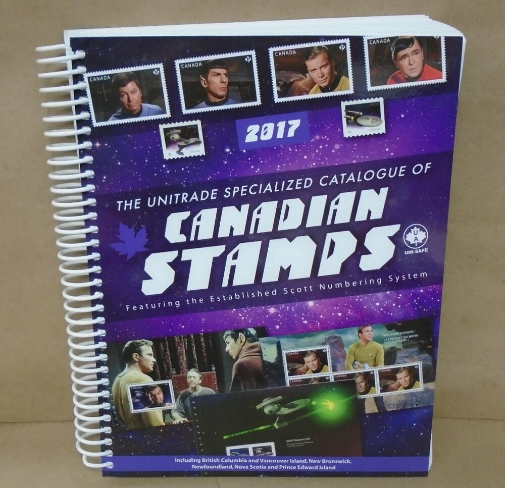 2017 Unitrade Specialized Catalogue of Canadian Stamps ...