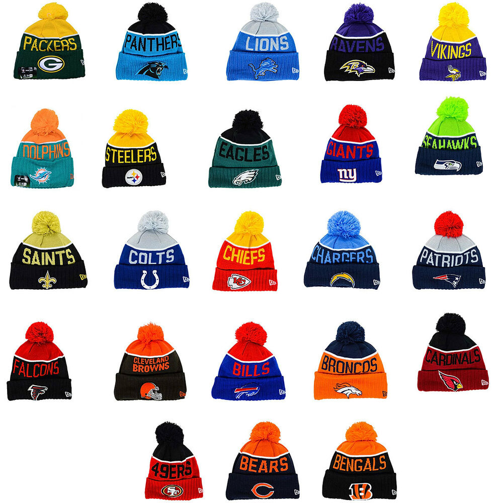 Men S 2015 Nfl Sideline On Field Sport Knit Hat Ebay