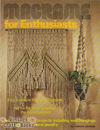 macrame pattern books macrame for enthusiasts vintage pattern book hanging chair 5960