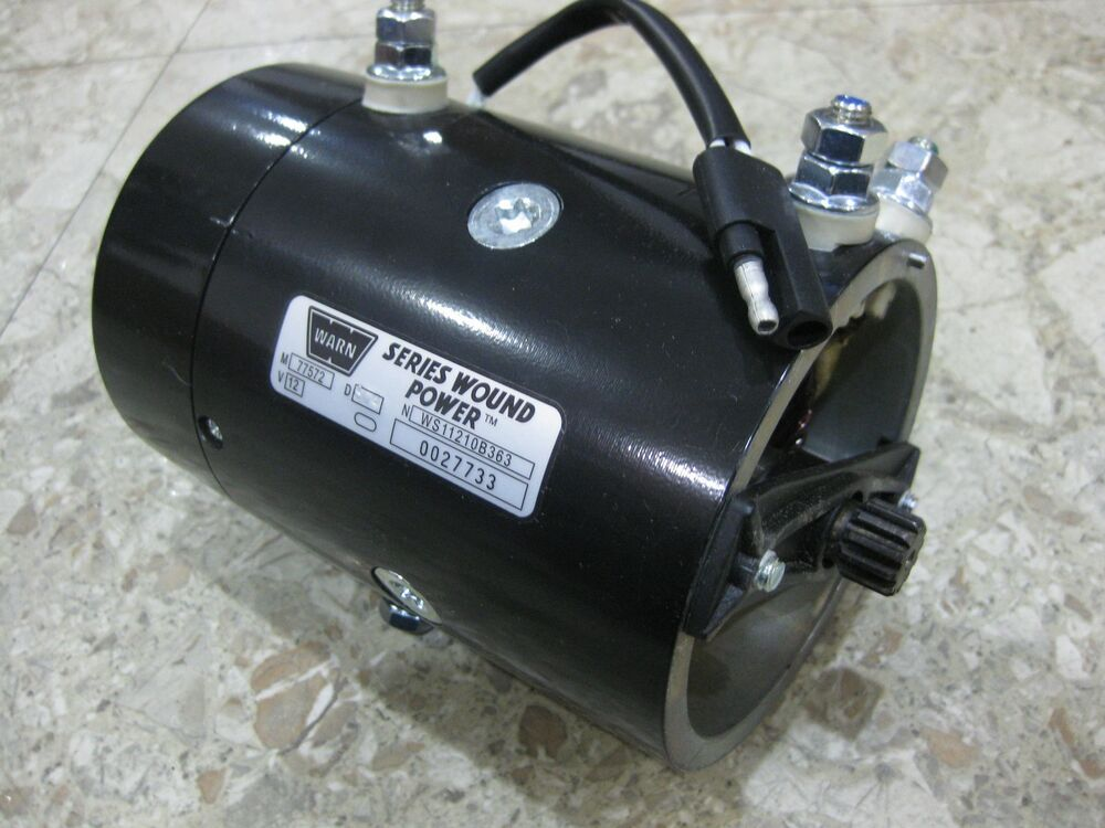 Genuine Warn 64635 New Replacement 12 Volt Electric Winch