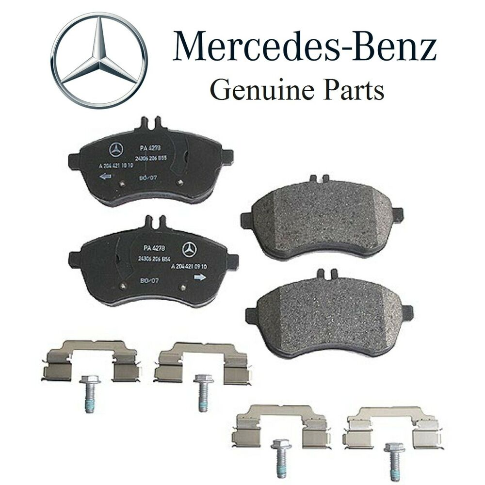 New mercedes w204 c204 c250 2012 2015 c300 2008 2012 front for Brake pads mercedes benz