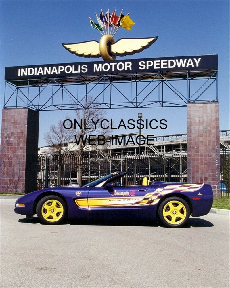 1998 indy 500 corvette pace car photo indianapolis motor for Indianapolis motor speedway clothing