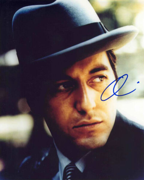 AL PACINO 8x10 CELEBRITY PHOTO PICTURE THE GODFATHER SIGNED PREPRINT 2