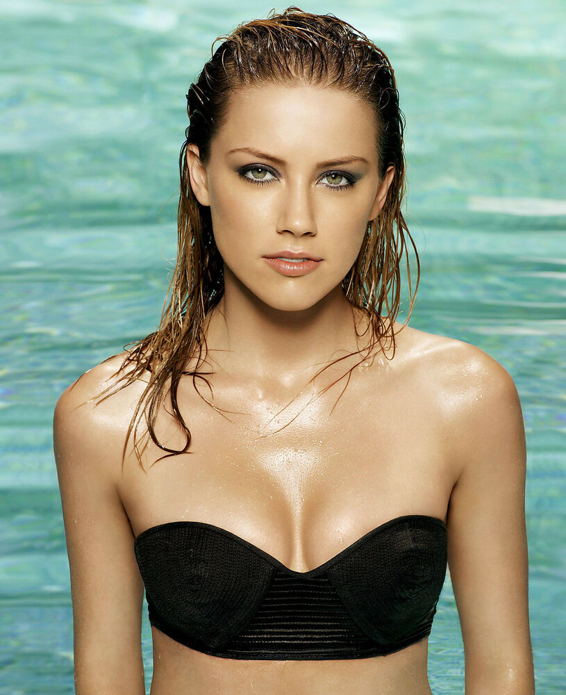 Details about AMBER HEARD 8x10 Photo Picture Pic Hot Sexy Candid Bikini 3