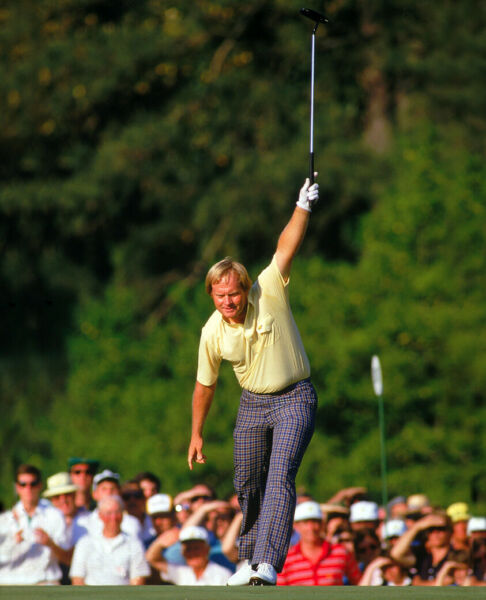 JACK NICKLAUS 8X10 CELEBRITY PHOTO PICTURE THE MASTERS
