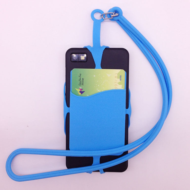 Cover Holder Sling Necklace Wrist Strap Silicone Lanyard ...