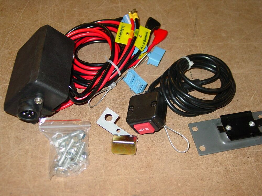 12v Winch Wiring Kit Control Box Switch Breaker Dk2 K2
