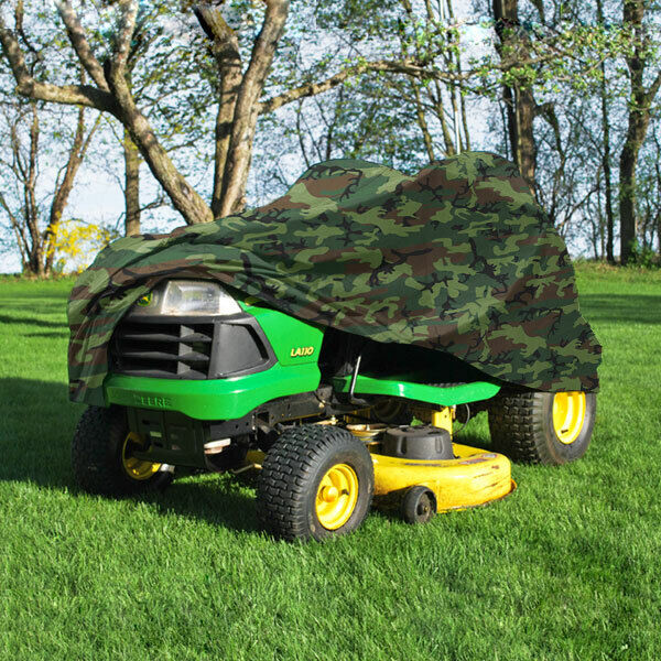Garden Tractor Cover : Deluxe riding lawn mower tractor cover yard garden fits