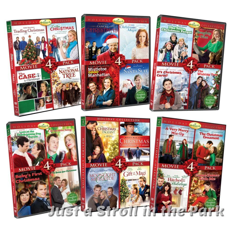 hallmark holiday collection complete 24 christmas movie