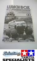 TAMIYA LUNCHBOX MANUAL INSTRUCTIONS BUILD 1050433 RE-RELEASE EDITION
