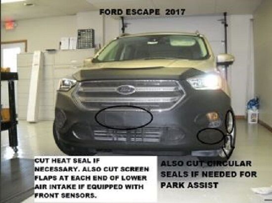 Ford Edge Accessories >> Lebra Front End Cover Bra Mask Fits Ford Escape 2017 2018 17-18 | eBay