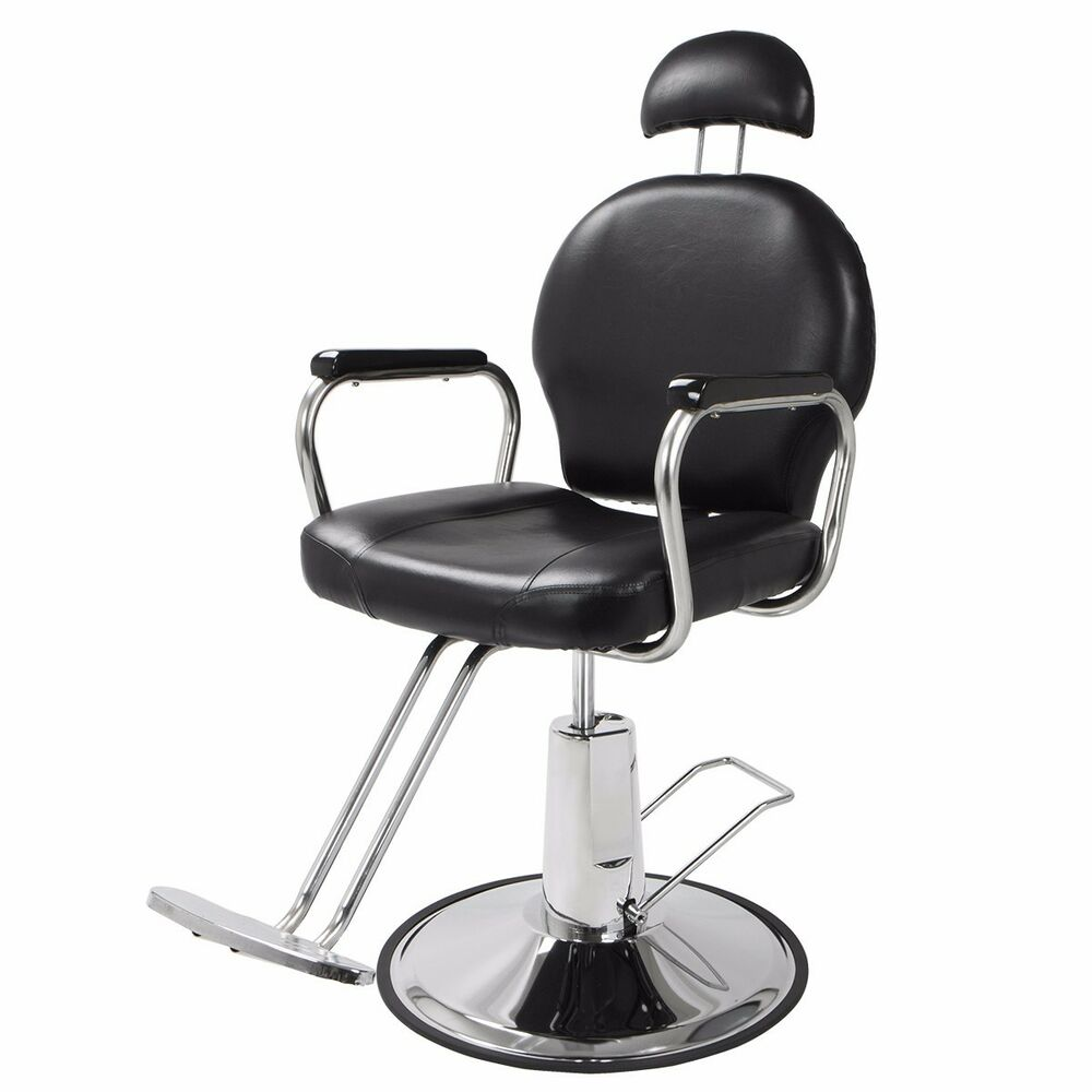 Hydraulic Barber Chair : New reclining hydraulic barber chair salon styling beauty