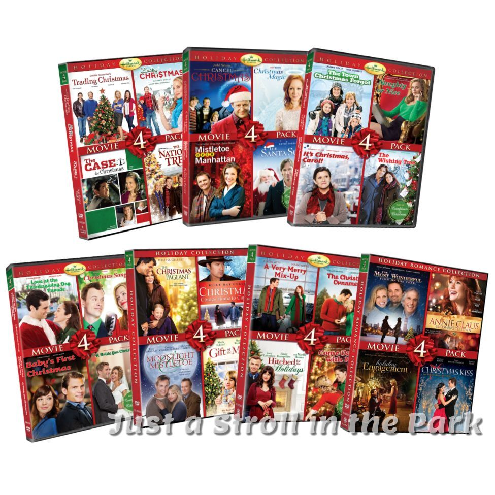 hallmark holiday collection complete 28 christmas movie