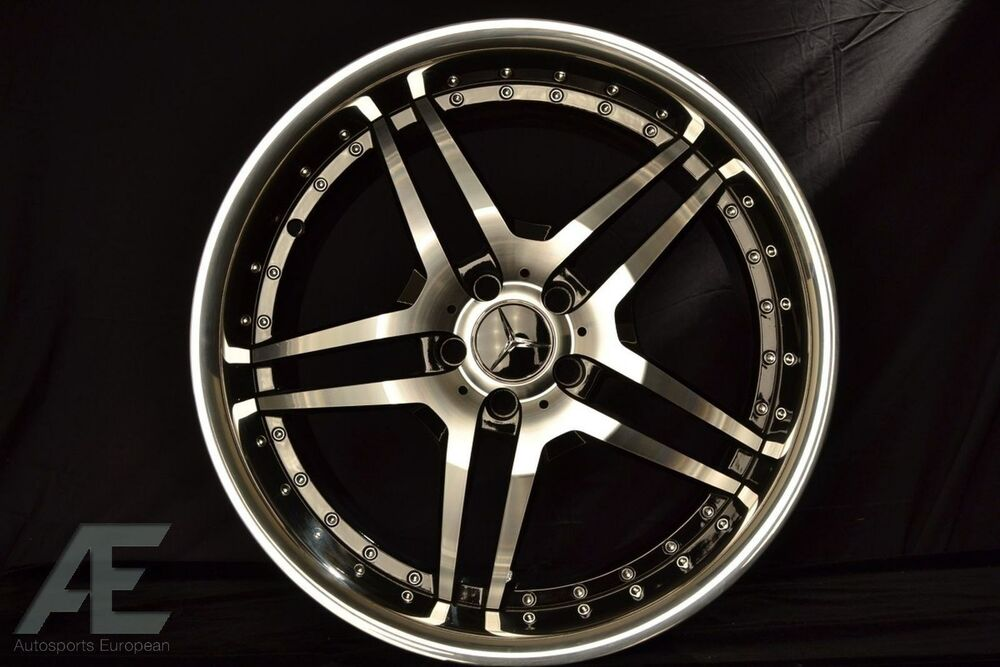 20 inch mercedes s430 s500 s550 s600 wheels rims rw2 black for Mercedes benz s550 rims for sale